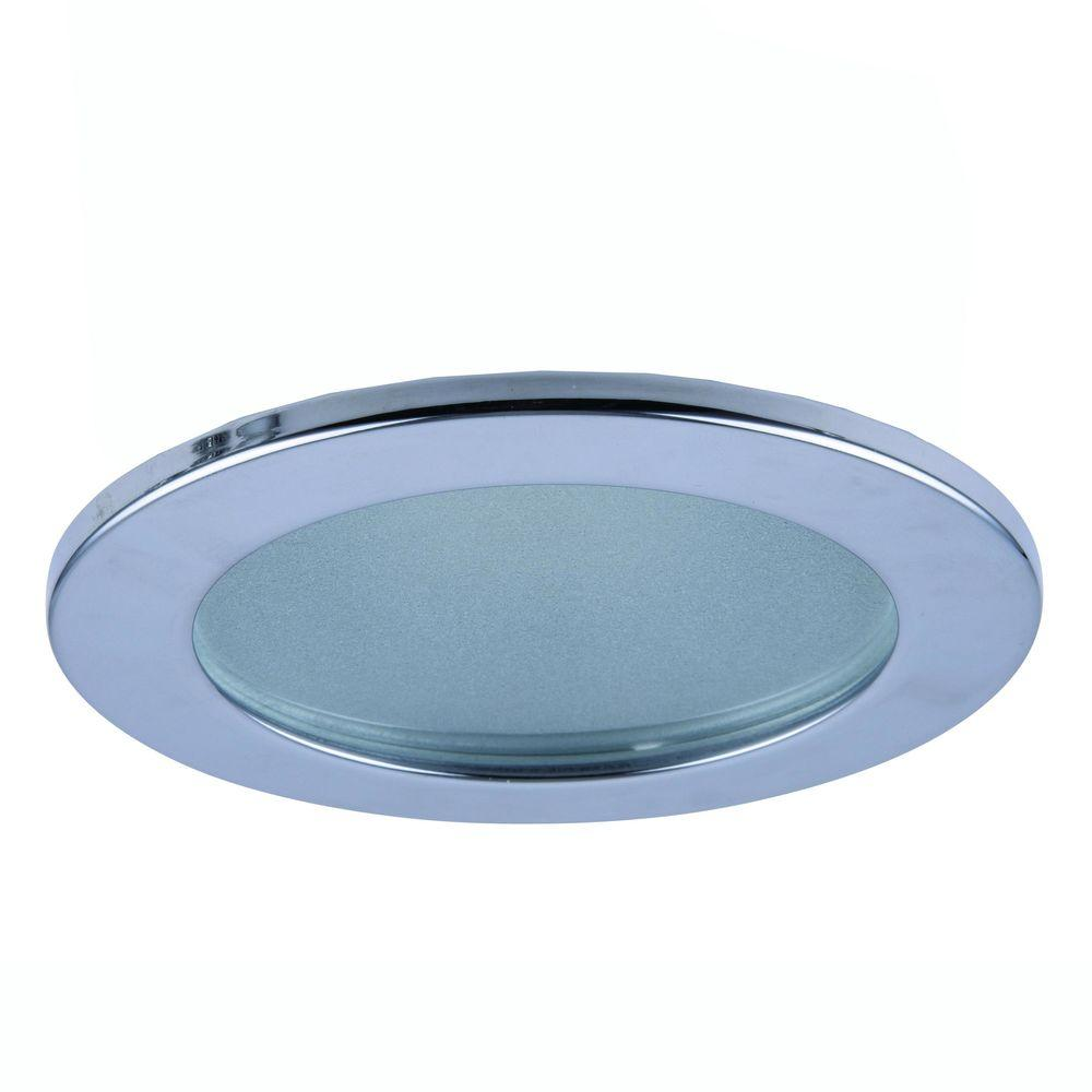 Awesome Elegant Lighting 3 In. Chrome Recessed Shower Trim R3 409CH   The Home Depot