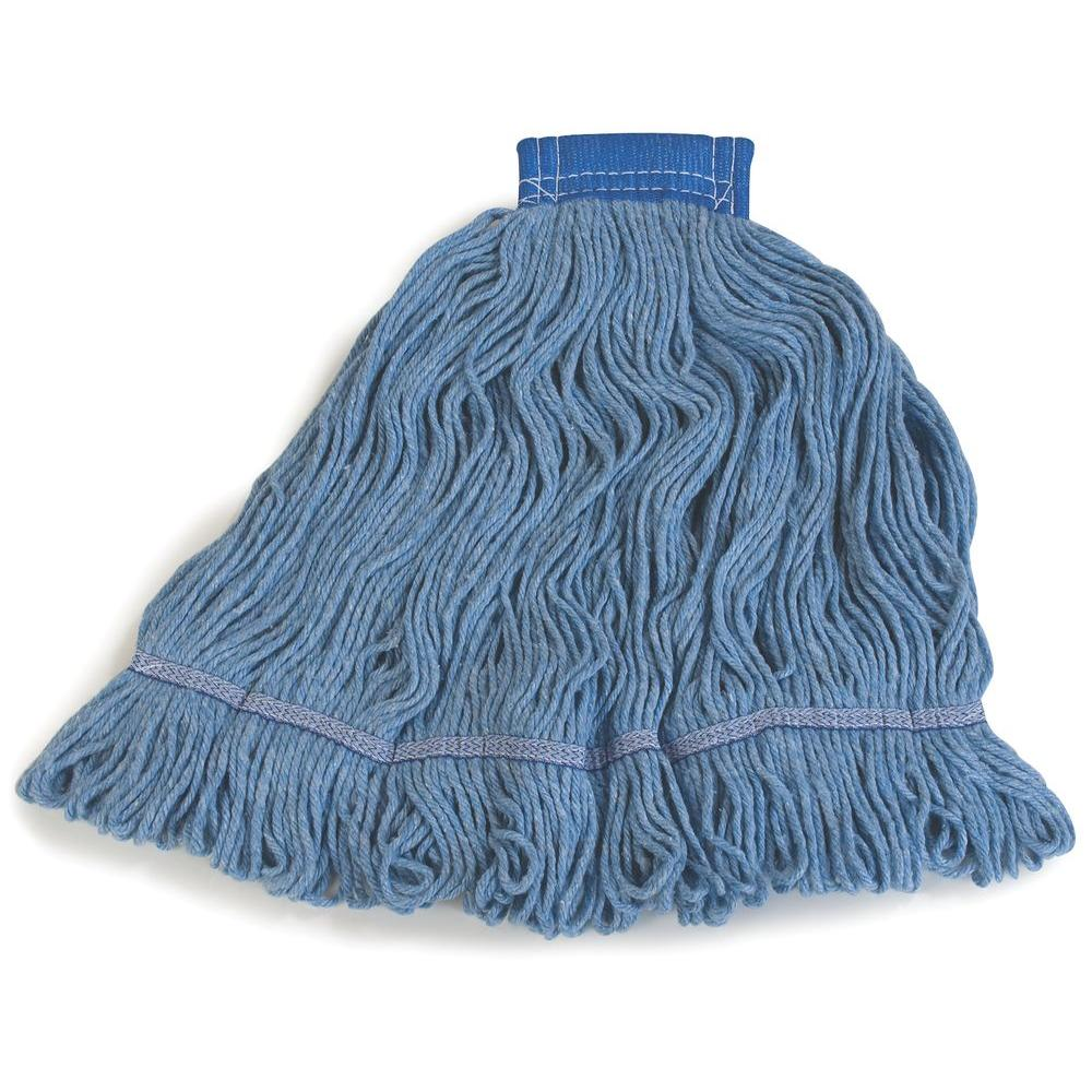 Flo-Pac Extra Large Blue Band Mop (Case of 12)