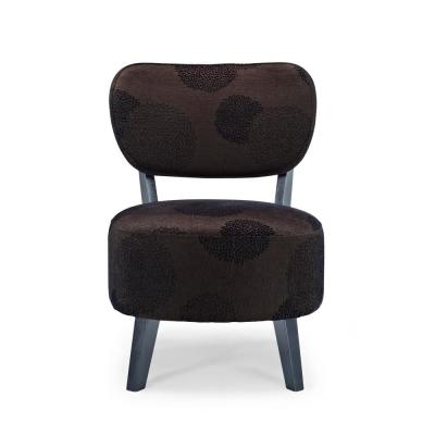 Sphere Brown Sunflower Accent Chair