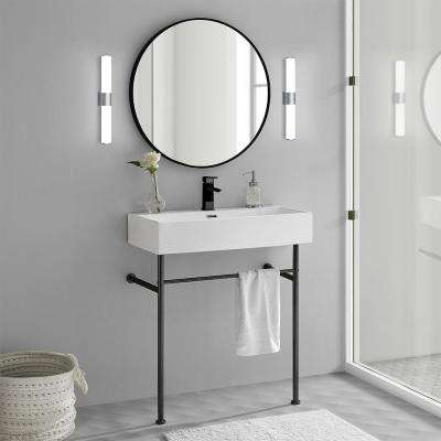 Claire 30 in. Console Sink in White
