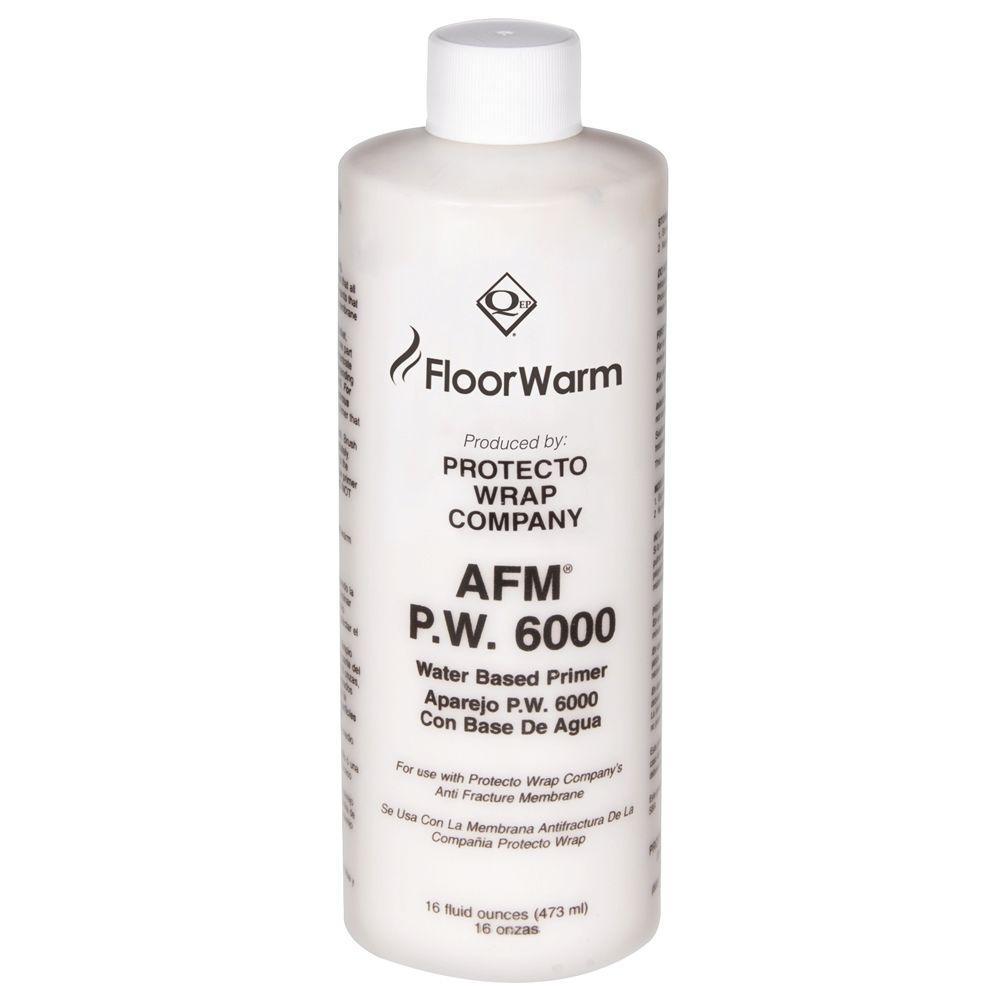 FloorWarm Roll-On Primer - 16 oz. for Underfloor Radiant Heat/Anti-Fracture Protection System