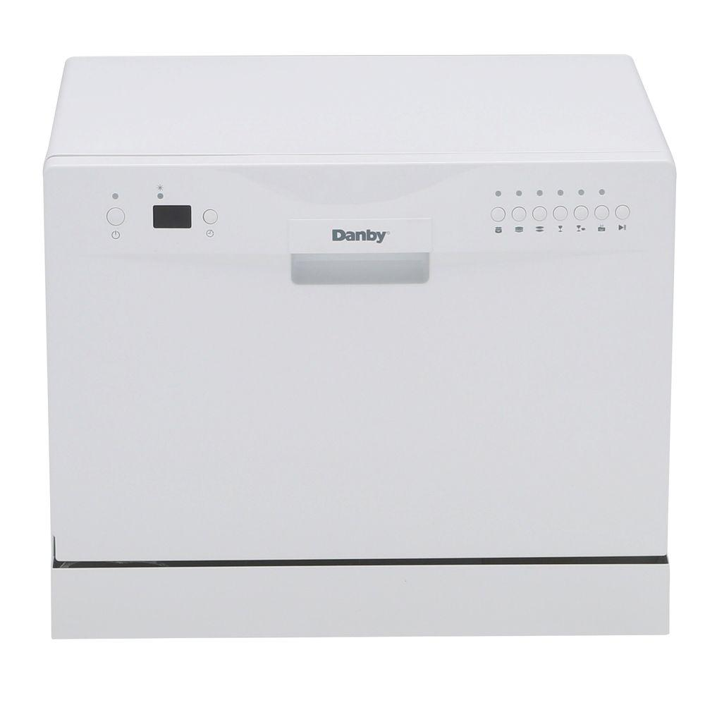 Danby Countertop Dishwasher in White