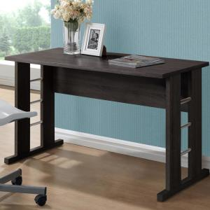 Home decorators collection aldridge antique grey desk with folio black espresso desk publicscrutiny Choice Image