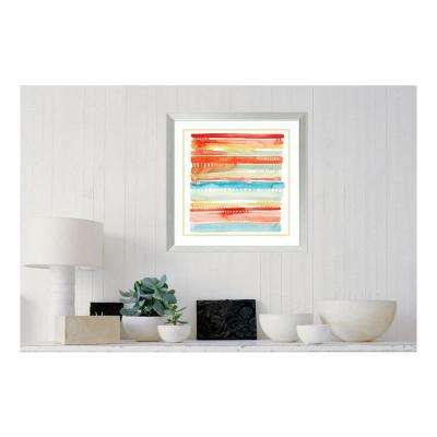 """24 in. H x 24 in. W """"Connected Lines I"""" by """" Grace Popp"""" Framed Print Wall Art"""
