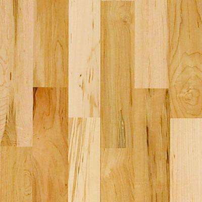 Vintage Maple Natural High Gloss 3/8 in. x 4-3/4 in. Random Length Engineered Click Hardwood Flooring (22.5 sq.ft./case)