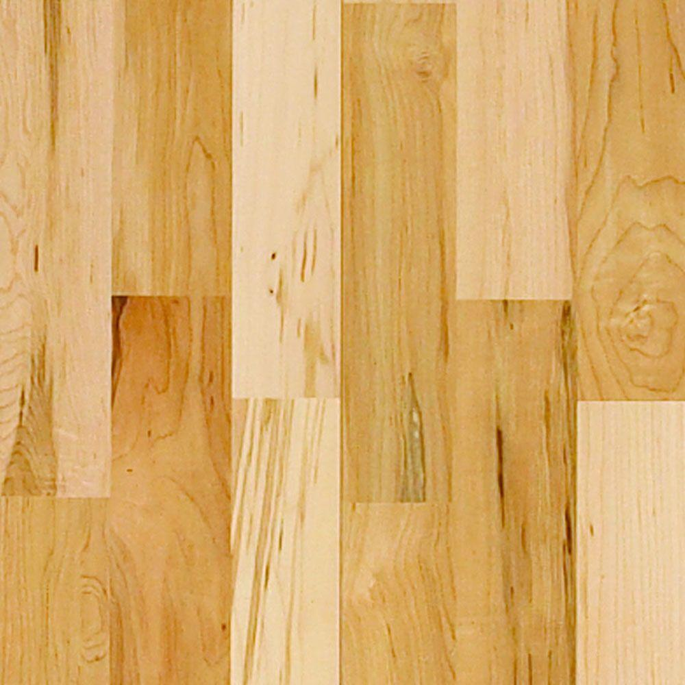 Millstead Maple Natural 3/8 in. Thick x 3-3/4 in. Wide x Random Length Engineered Click Hardwood Flooring (24.4 sq. ft. / case)