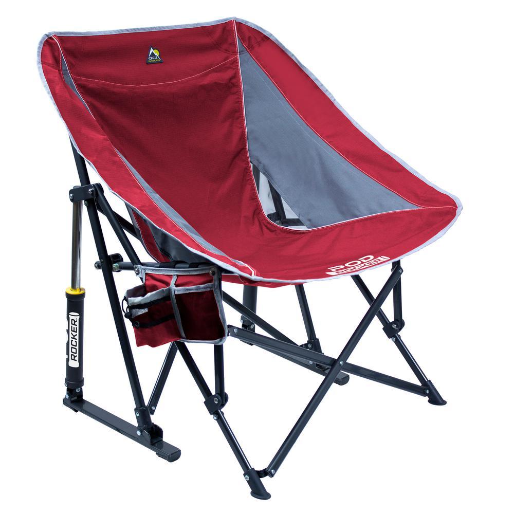 Pod Rocker Metal Outdoor Rocking Chair