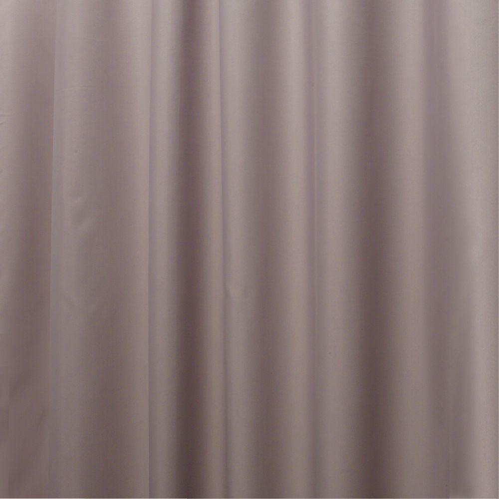 Poly Waterproof Shower Curtain Liner In Gray