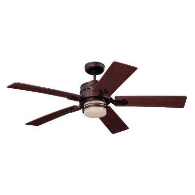 Amhurst 54 in. Venetian Bronze Ceiling Fan