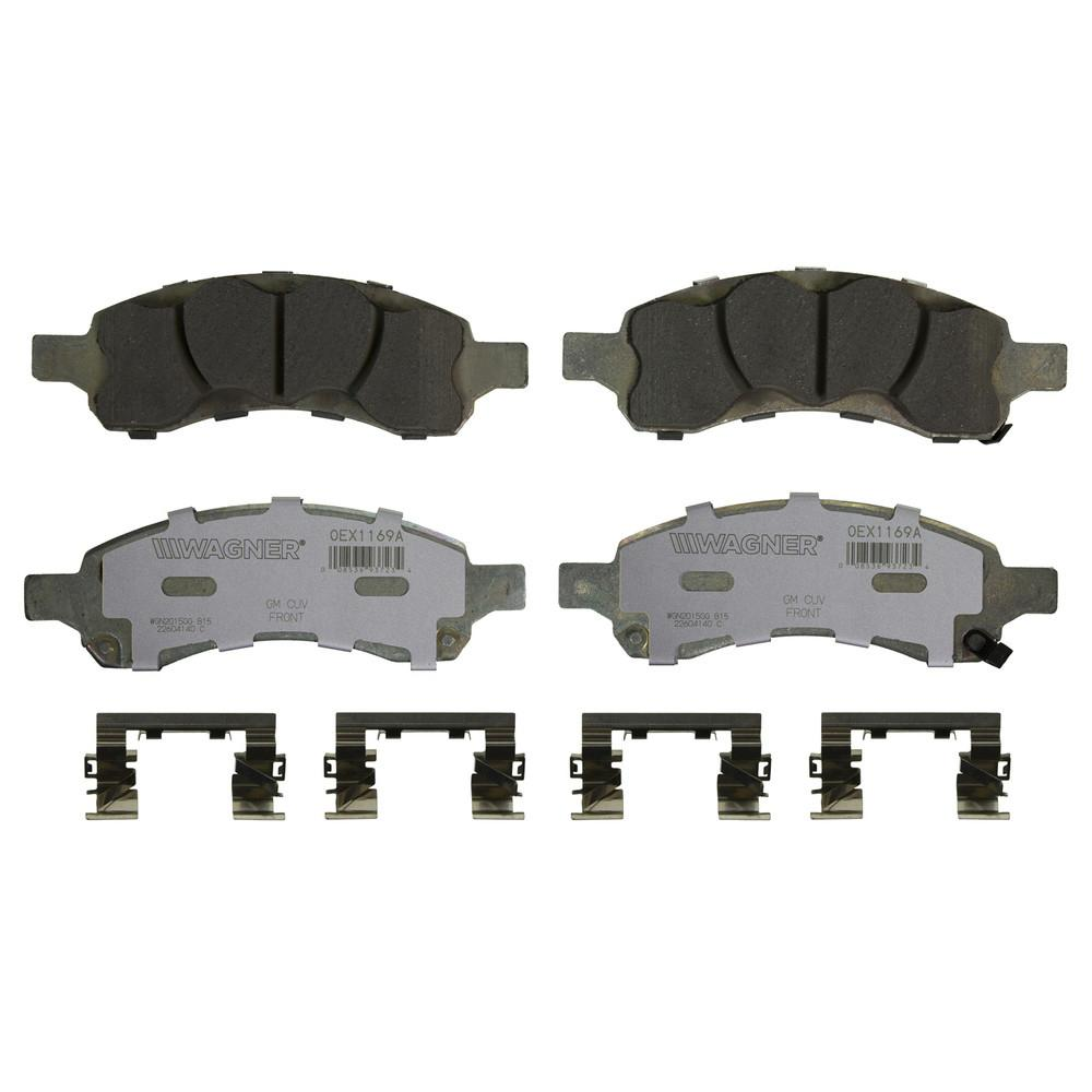Wagner Brake OEX Disc Brake Pad - Front-OEX1169A - The Home