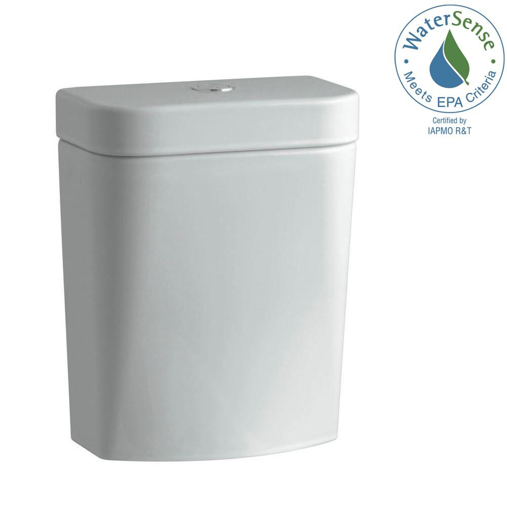 Persuade Circ 1.28 GPF Single Flush Toilet Tank Only in Ice