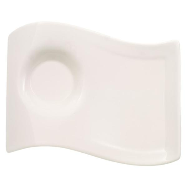 Villeroy & Boch New Wave Caffe White Porcelain Small Party Plate
