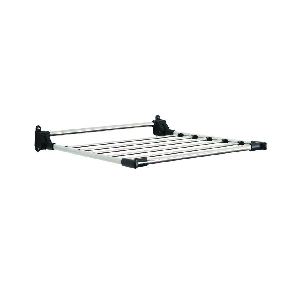 Stainless Steel Indoor Wall-Mount Drying Rack