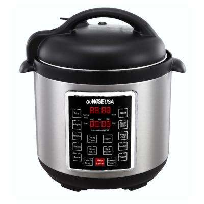 6 Qt. Electric Pressure Cooker with 12-Presets