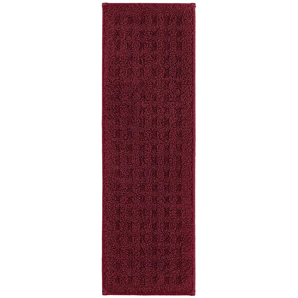 Vista Indoor Stair Tread Covers in Cabernet 9 in. x 29