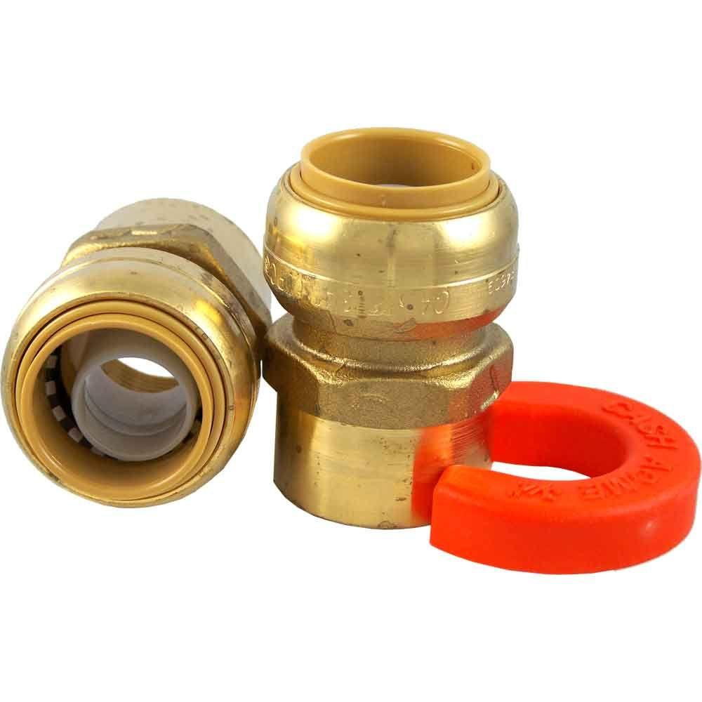 3/4 in. Female Pipe Thread Water Heater Connection Kit