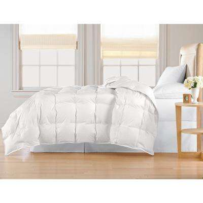 White Down King Comforter
