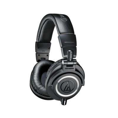 Professional Studio Monitor Headphones, Black