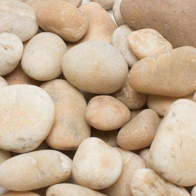 0.5 in. to 1.5 in., 2200 lb. Small Golden Sapphire Pebbles Super Sack