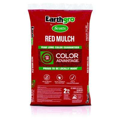 2 cu. ft. Red Mulch