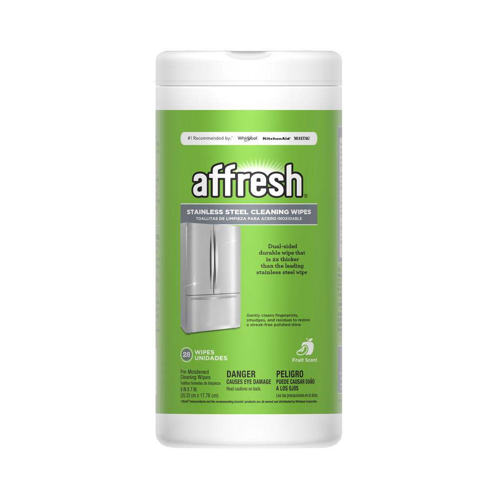 Affresh Stainless Steel Cleaning Wipes 28 Count