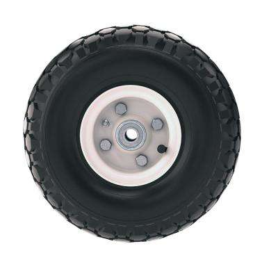 10 in. Replacement Rim with Pneumatic Tire for Brick and Block Cart