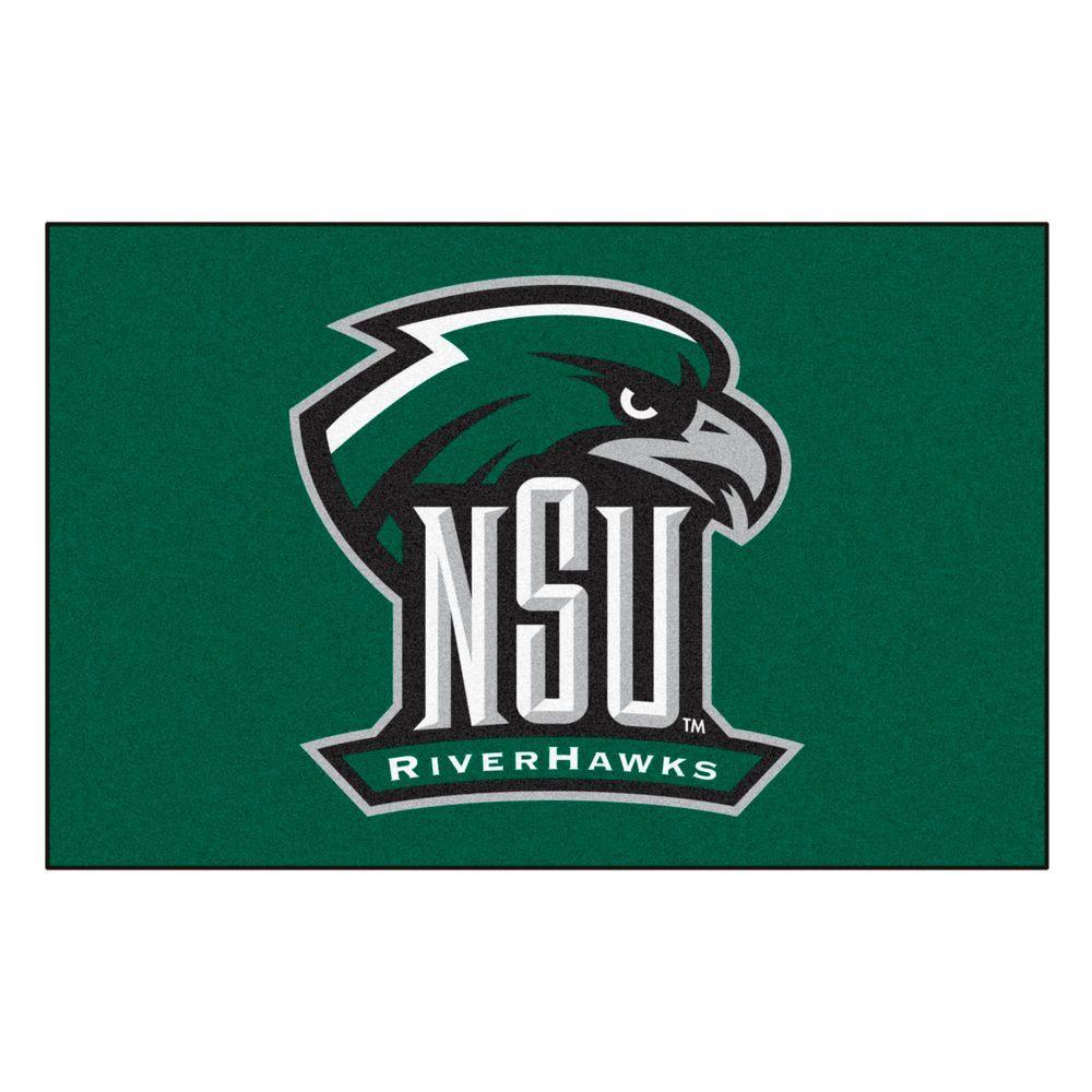 FANMATS NCAA Northeastern State University Green 1 Ft 7
