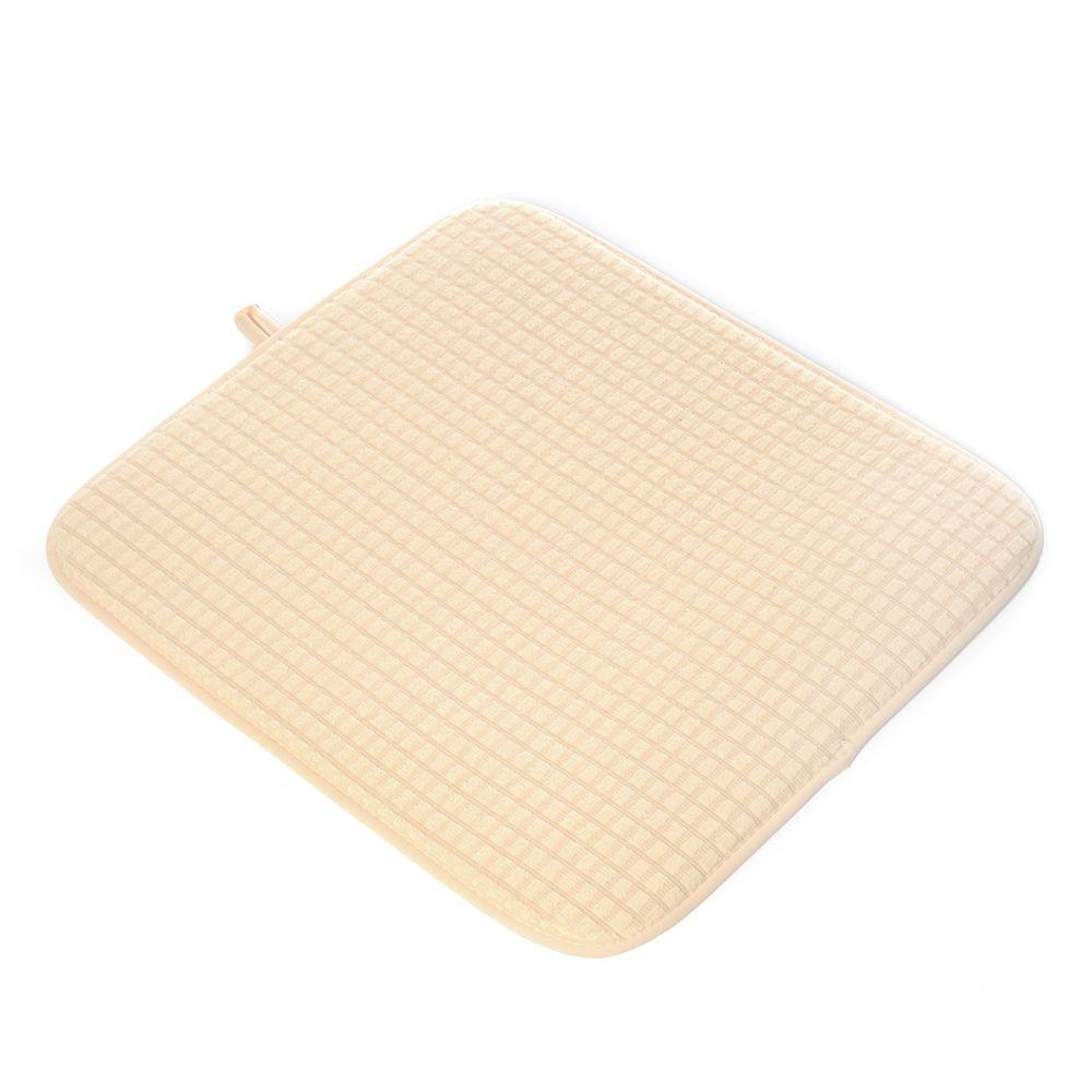 Kitchen Drying Mat In Almond