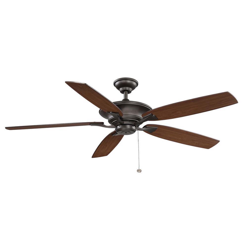 Ashburton 60 in. Indoor Espresso Bronze Ceiling Fan