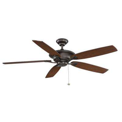Ashburton 60 in. Indoor Espresso Bronze Ceiling Fan