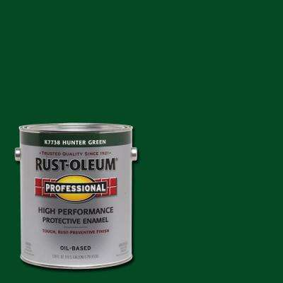 1 gal. High Performance Protective Enamel Gloss Hunter Green Oil-Based Interior/Exterior Paint (2-Pack)