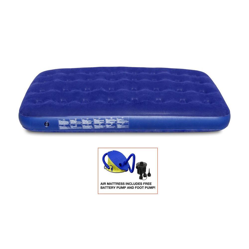 Heavy Duty Air Mattress >> Gigatent Gigatent Twin Air Mattress Includes Battery Pump And Foot Pump Portable Mattress For Camping
