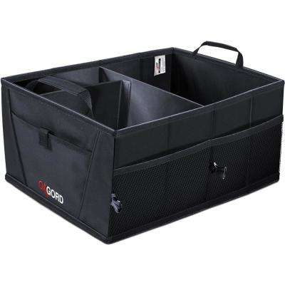 21 in. L x 15 in. W x 10 in. Auto Trunk Storage Organizer Bin with Pockets