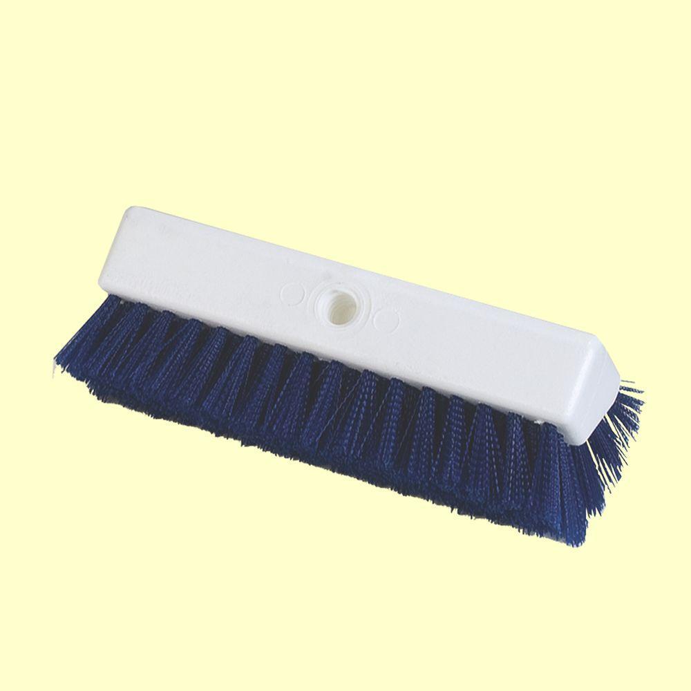 Hi-Lo 10 in. Blue Polypropylene Scrub Brush (Case of 12)