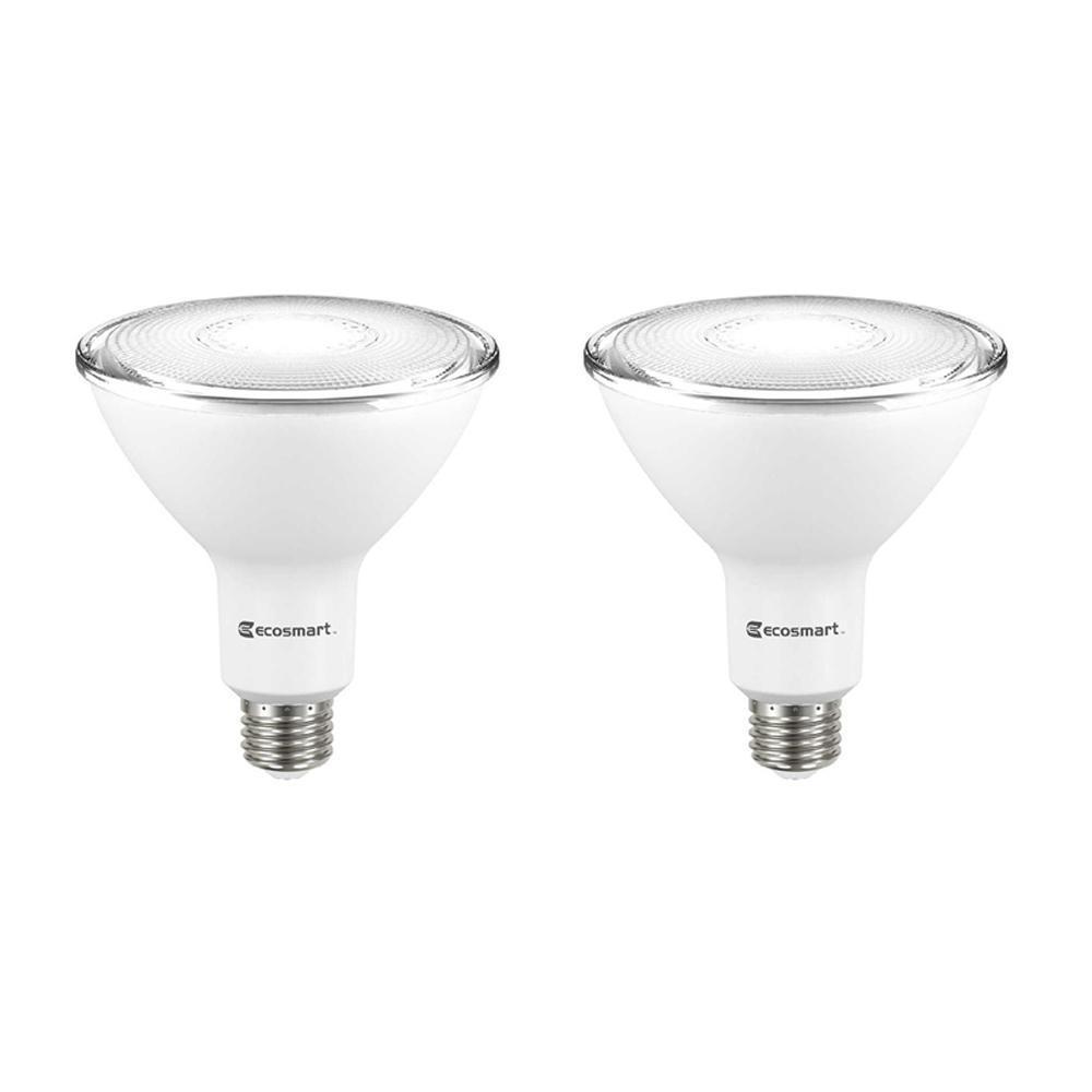 120-Watt Equivalent PAR38 Dimmable Energy Star Flood LED Light Bulb Bright White (2-Pack)