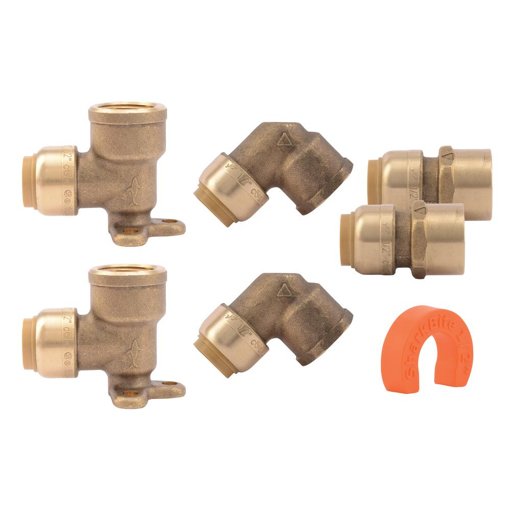 how to use push to connect fittings