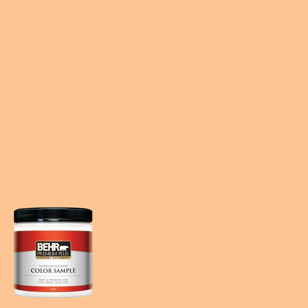 P220-4 Dainty Apricot Flat Interior Exterior Paint and Primer in One Sample 7fcd5ae154
