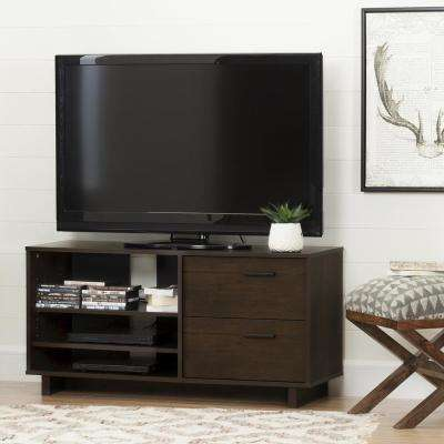 Fynn Brown Oak Storage Entertainment Center