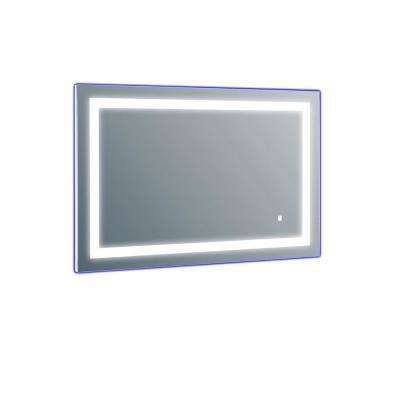 Deco 20 in. W x 28 in. H LED Wall Mounted Vanity Bathroom LED Mirror in Aluminum