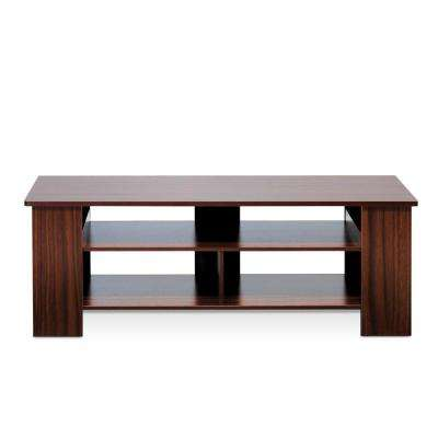 Boyate TV Entertainment Stand in Walnut