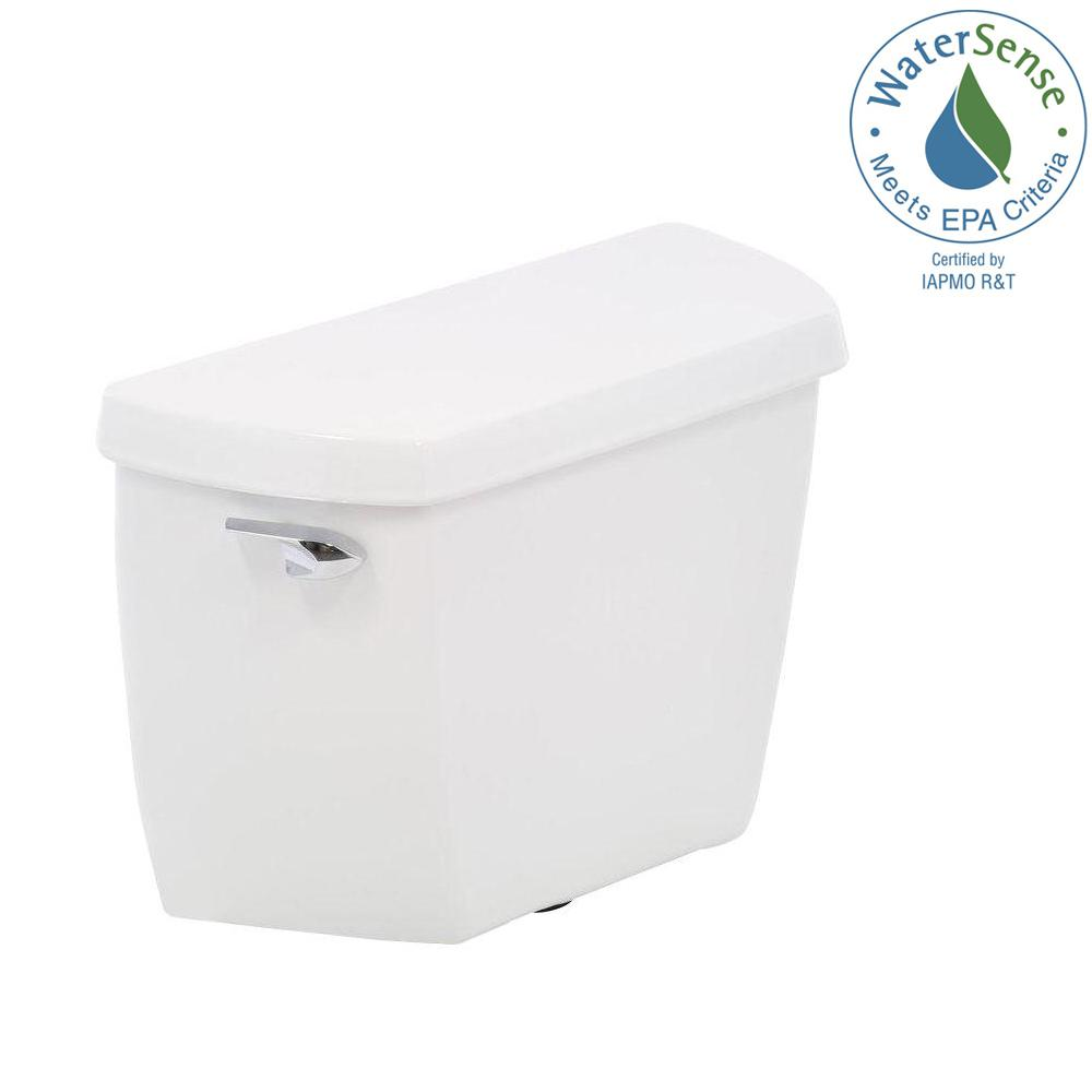 KOHLER Wellworth Classic 128 GPF Single Flush Toilet Tank Only With Class Five Flushing Technology In