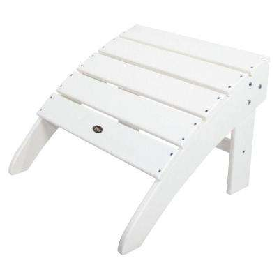 Cape Cod Classic White Patio Ottoman