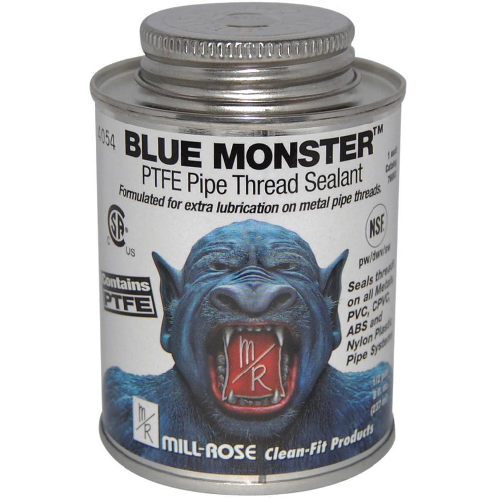 Blue Monster 4 oz. PTFE Pipe Thread Sealant