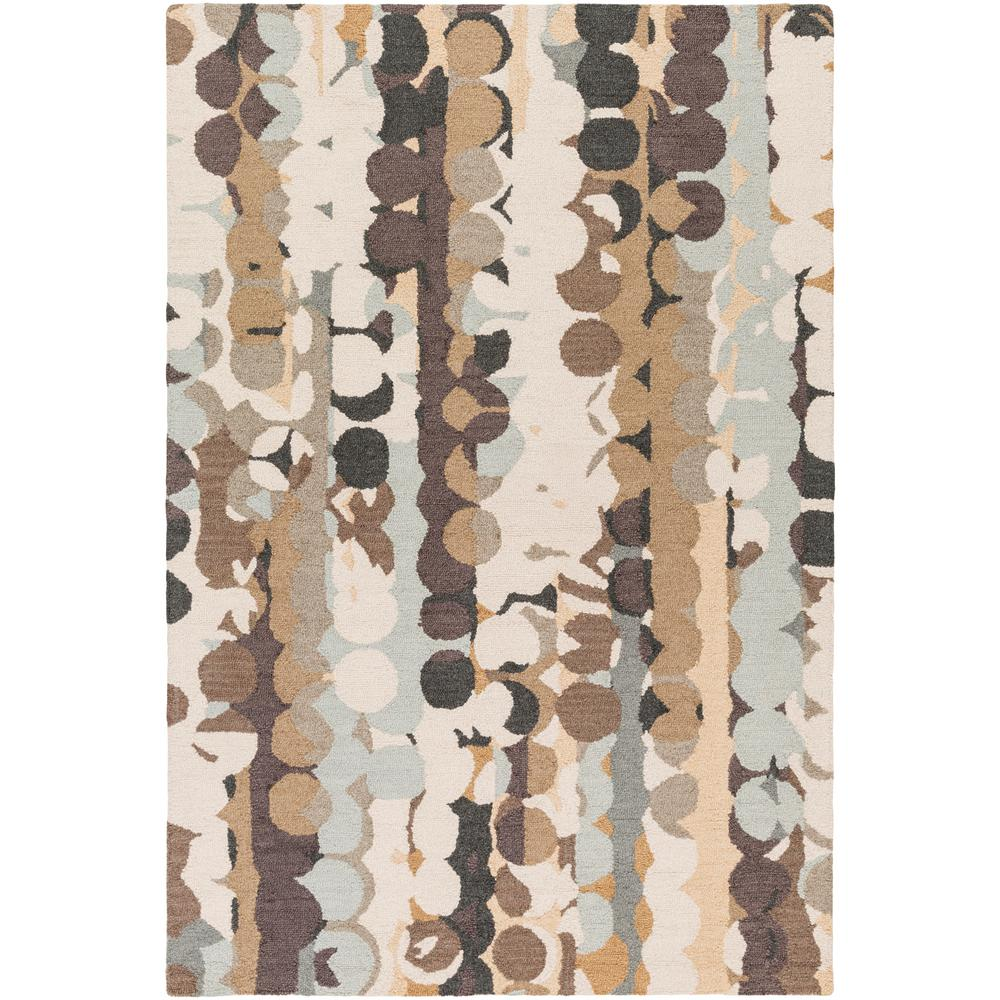 Guido Tan 2 ft. x 3 ft. Area Rug