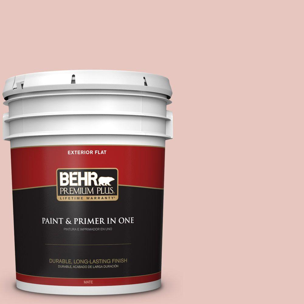 5-gal. #S160-1 Iced Cherry Flat Exterior Paint