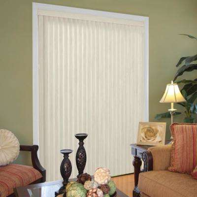 Embossed Room Darkening Louver Set for 3-1/2 in. Vertical Blind - 9 Pack