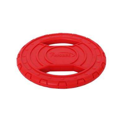 Red Frisbee Durable Chew and Fetch Teether Dog Toy