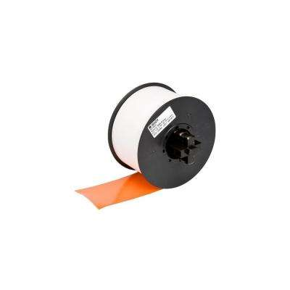 MiniMark Industrial Printer General Purpose 4 in. x 110 ft. Vinyl Orange Tape