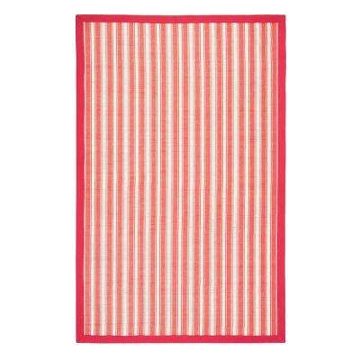 Hamptons Reef Red 7 ft. x 10 ft. Area Rug