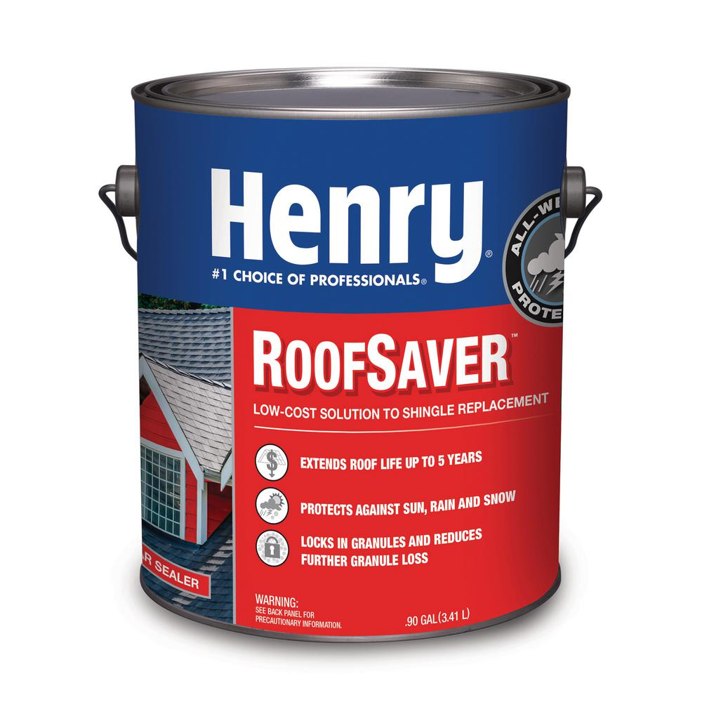 Henry Henry 812 Roofsaver Clear Sealer Shingle Coating To Extend Shingle Life 0 90 Gal He812146 The Home Depot